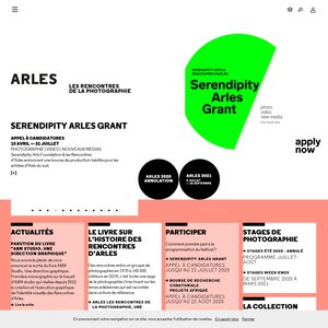 Stage Rencontres d'Arles